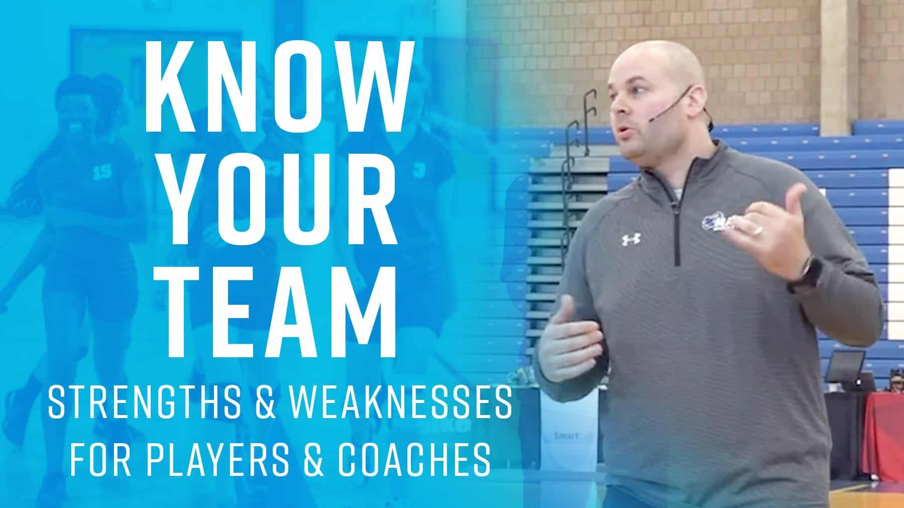 Know Your Team Strengths Weaknesses For Players Coaches The Art Of Coaching Volleyball Coaching Volleyball Workout Warm Up Coaching