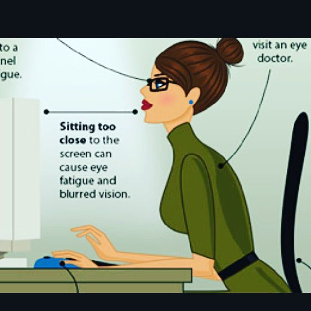 #Computer vision syndrome and digital #eyestrain are a group of vision-related problems from viewing #digital screens for a long time. #PrateFamilyEyeCare