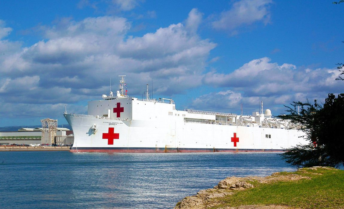 A History Of Hospital Ships In The United States In 2020 Ship Navy Ships Go Navy