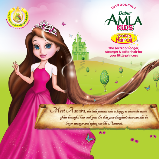 Dabur Amla Kids Hair Oil Has The Goodness Of Amla Nourishment With Added Benfits Of Almonds And Olives This Ensures Your Dabur Fitness Beauty Little Princess