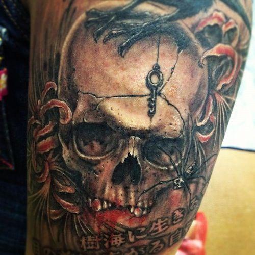 Jaw Dropping Ideas For Tattoess: Pin On Skull Jaw Tattoo Designs