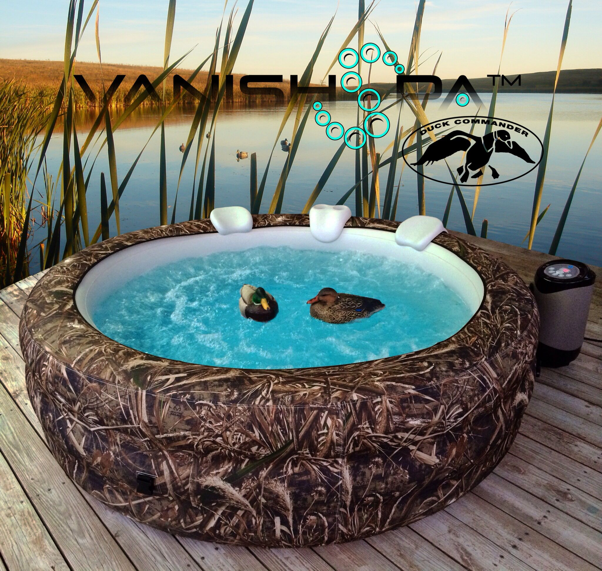 Vanish Spa: Realtree Max-5 Camouflage portable hot tub Vanishspa.com ...