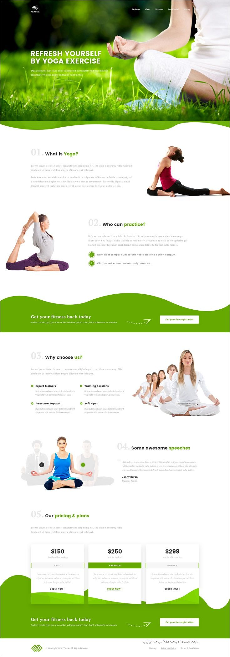 Business pack is a creative, modern and clean #design #PSD template for multipurpose #yoga center landing page website download now➩ https://themeforest.net/item/business-pack-creative-multipurpose-landing-page-psd/17229145?ref=Datasata