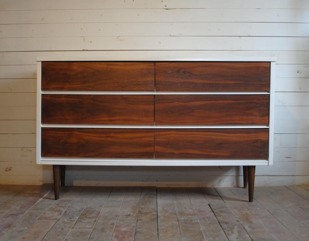 Best Beautiful Mid Century Modern Six Drawer Dresser Credenza 400 x 300