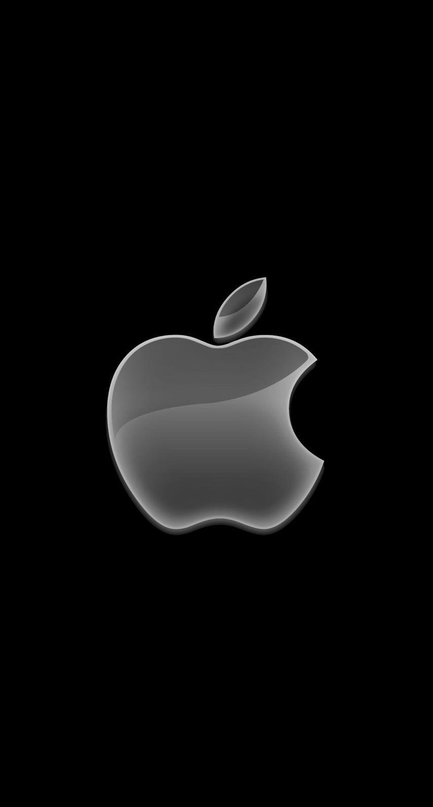Apple Logo Black Cool Wallpaper Sc Iphone6s Apple Wallpaper