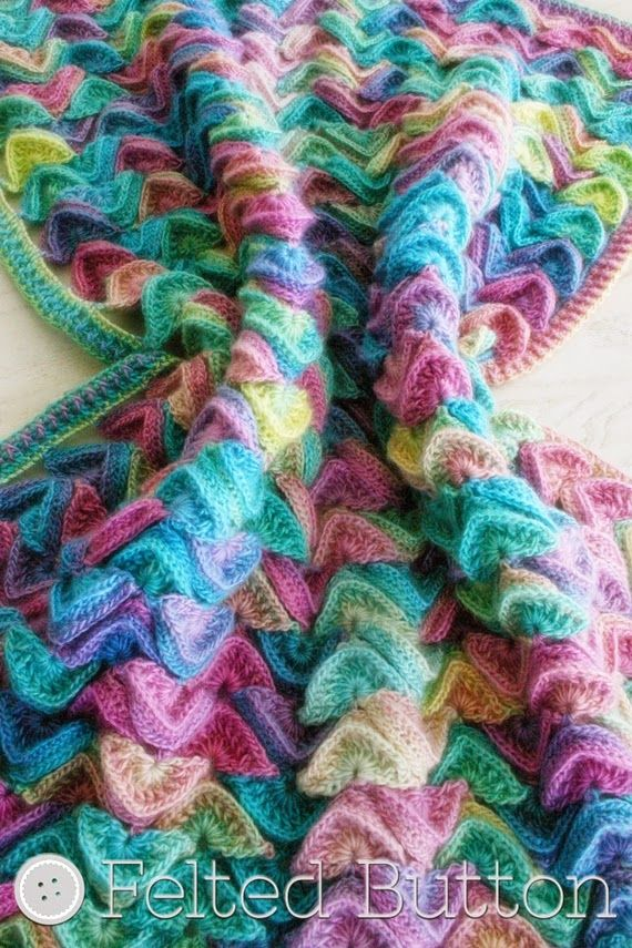 Felted Button Colorful Crochet Patterns 2014 Colorful Crochet