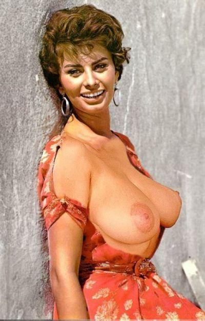 Sophia Loren In The Nude