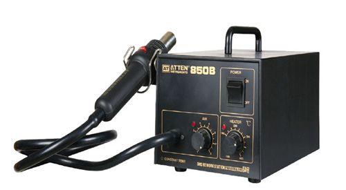 Low Vibration Hot Air Rework Station At850b Review Air Pump