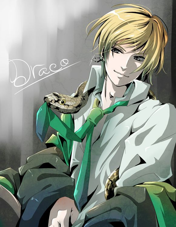 Draco Malfoy from the Harry Potter series by J.K. Rowling