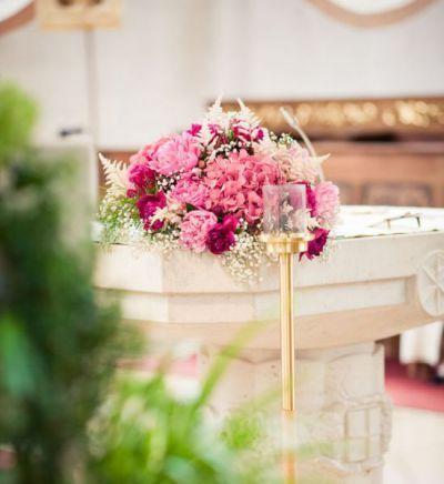 07 Altarschmuck I In 2019 Kirchenschmuck Hochzeit