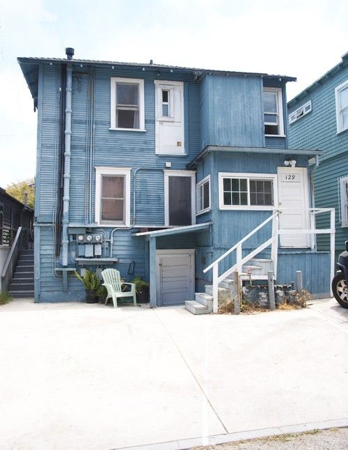 blue house venice beach blue houses venice beach house beach rh pinterest com
