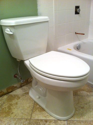 how to install a toilet like a pro diy home improvement toilet rh pinterest com