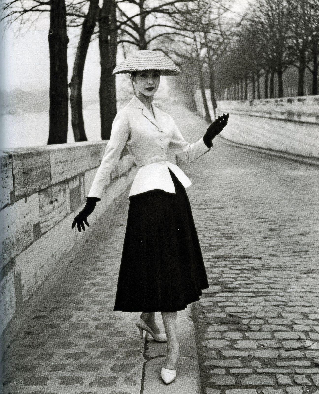 1803a767406d Renée Breton in Dior s iconic