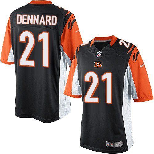 Nike Elite Darqueze Dennard Black Youth Jersey - Cincinnati Bengals #21 NFL  Home