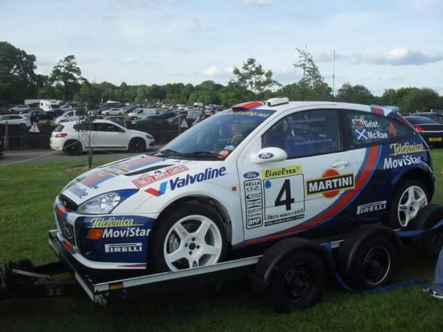 Focus Wrc Ford Focus Ford Rs Rally Car