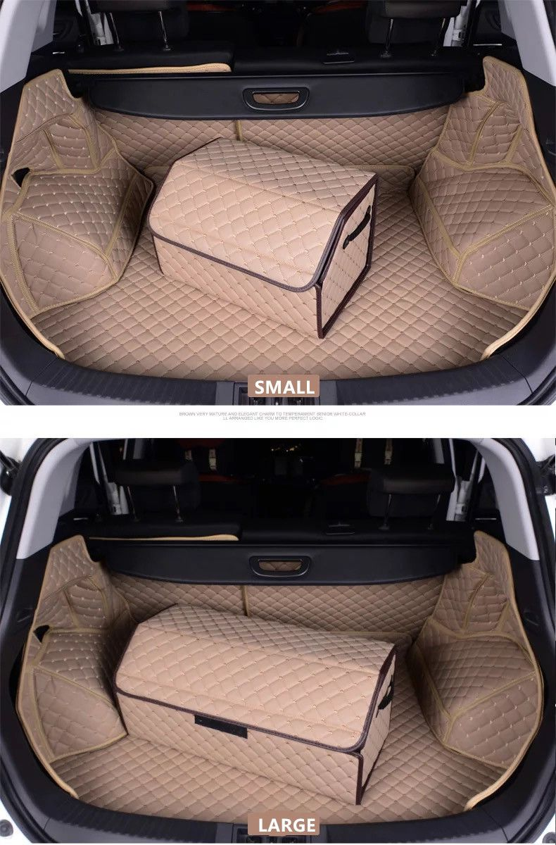 Car Trunk Organizer Beige Girly Accessories For Mini Cooper Opgir 39110 Forward Lamp Wiring Harness