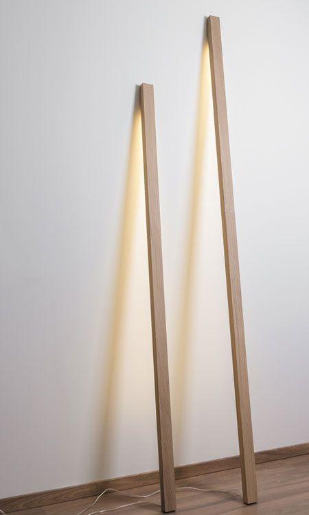 Photo of Designer floor lamps VOLIGE by Drugeot Manufacture | HolzDesignPur
