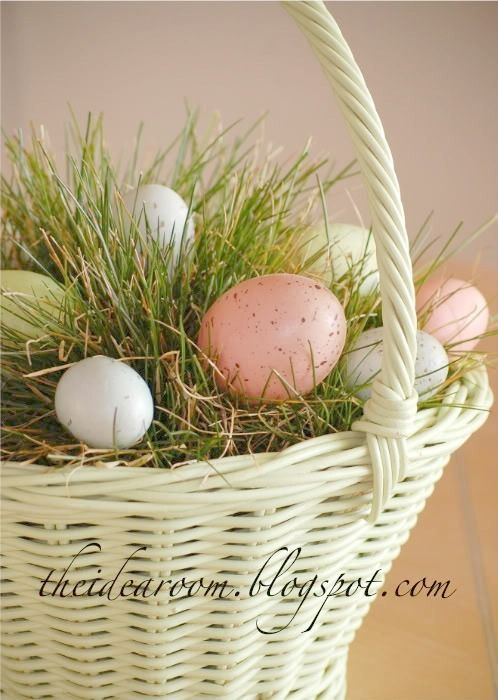 Grow real easter basket grass easter baskets grasses and easter easter negle Images