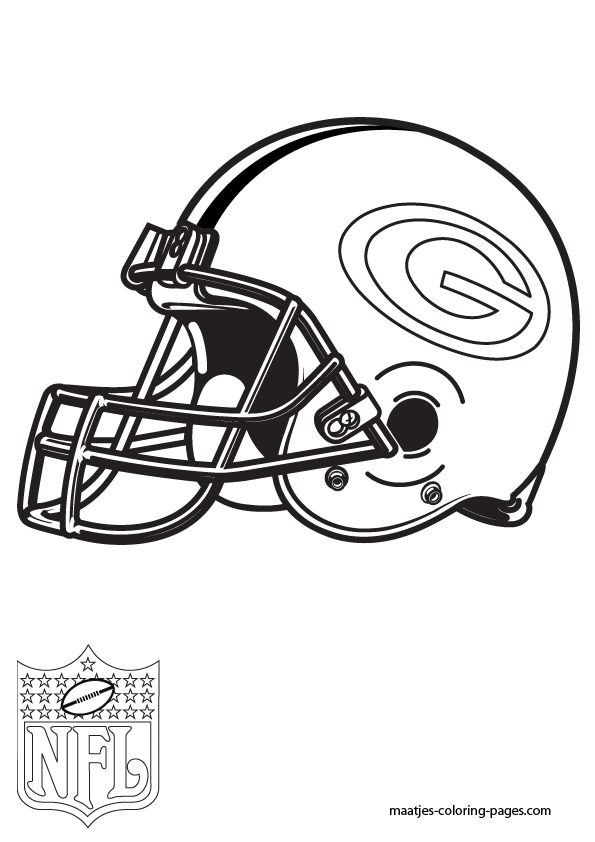Green Bay Packers Coloring Pages | Green bay packers colors