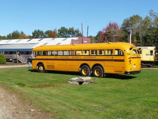 Crown School Bus With Images School Bus Vintage Vw Bus Bus