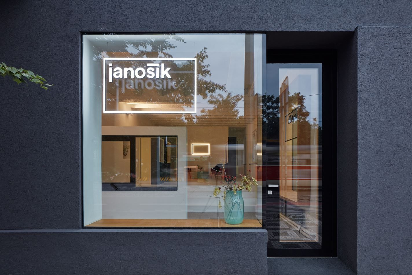 Janosik Design Window Showroom Picture gallery