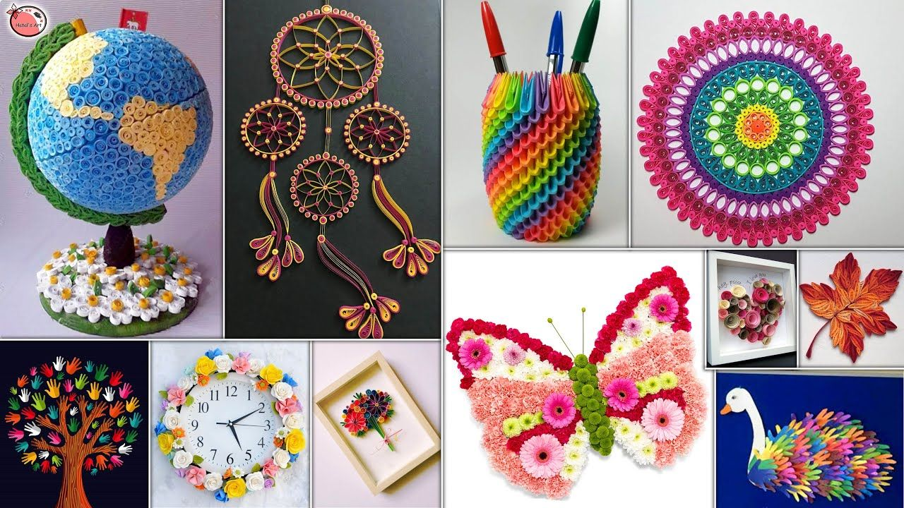11 Paper Quilling Diy Room Decor Best Craft Ideas For Small House In 2020 Diy Arts And Crafts Crafts Paper Quilling