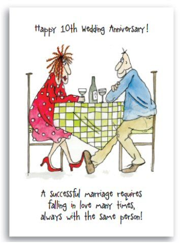 Tenthwedding Anniversary Cards Google Search Humorous Anniversary Quotes New Home Greeting Card Wedding Anniversary Quotes