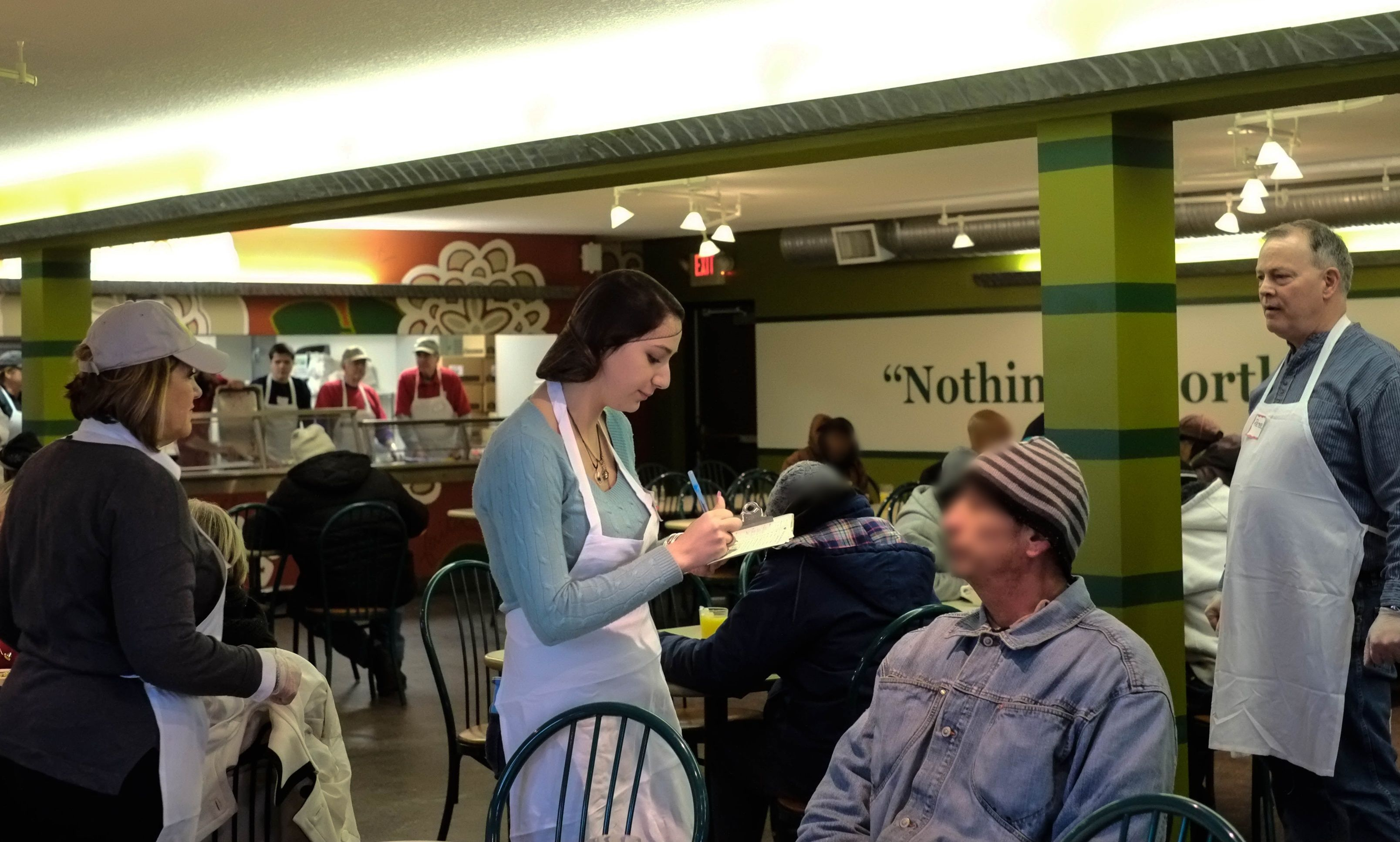 a soup kitchen disguised as a restaurant is making a big difference rh pinterest com