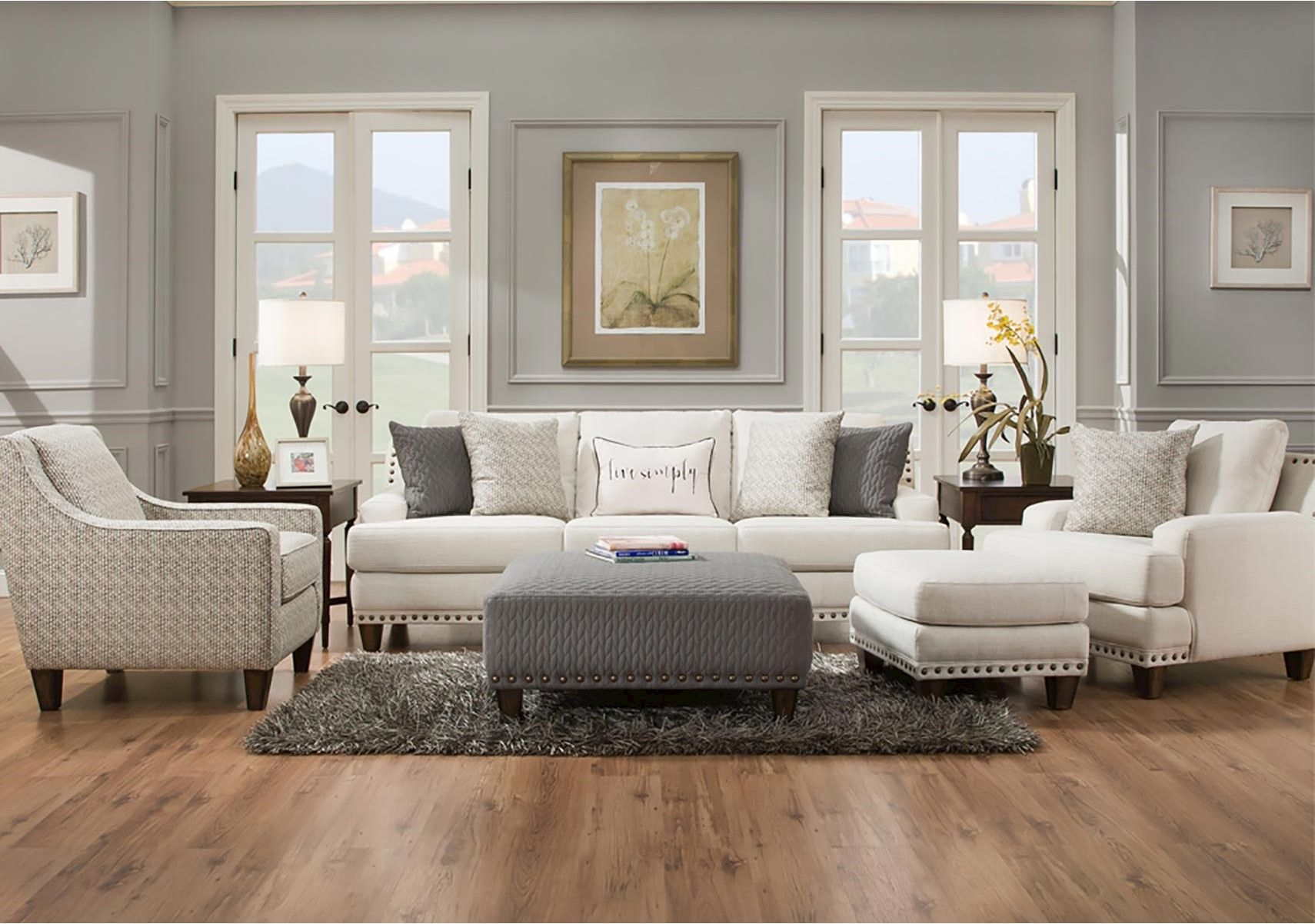 Lacks Montey 2 Pc Living Room Set Living Room Sets Livingroom