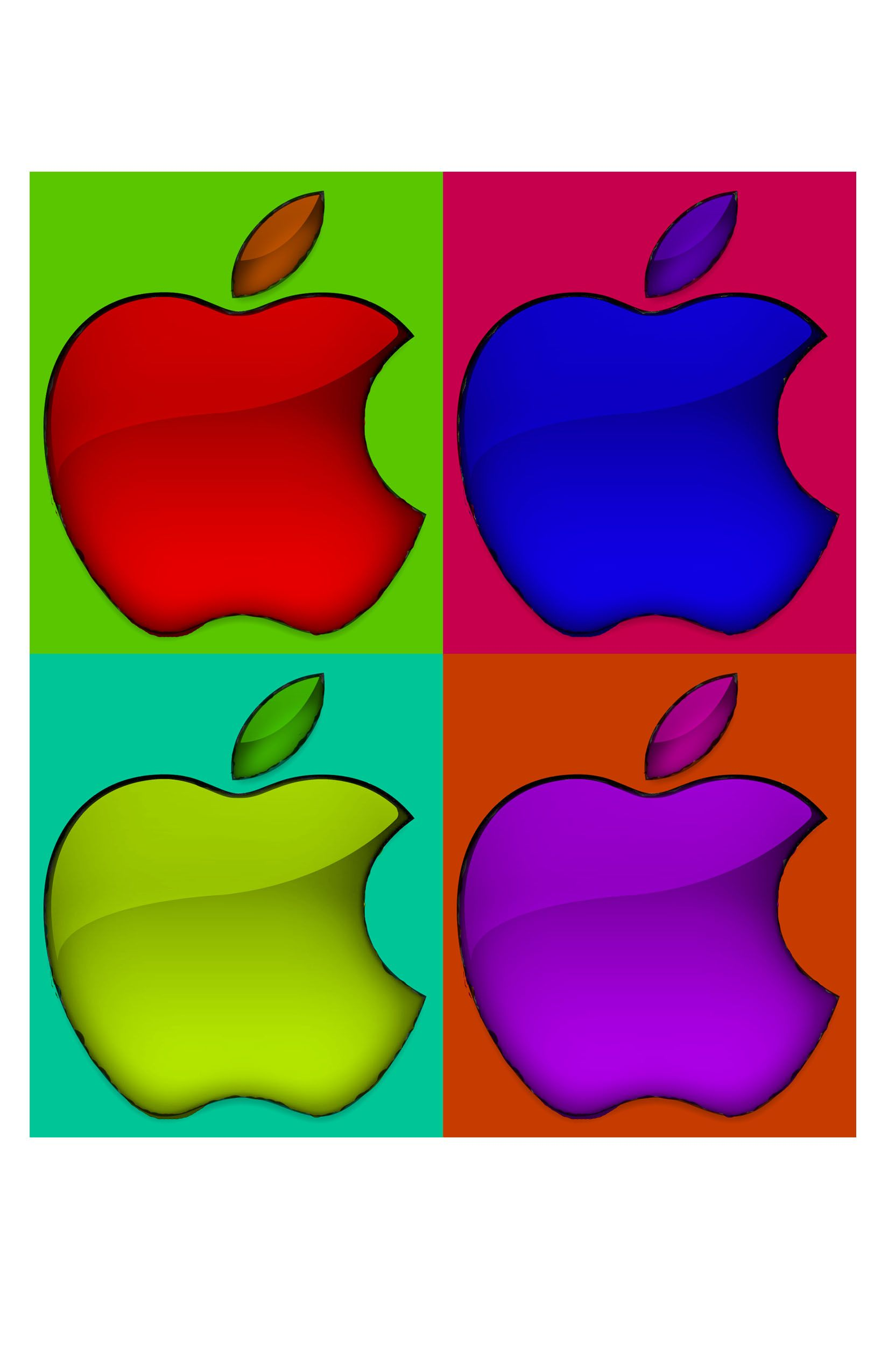 andy warhol, apple logo | possible art nite projects | pinterest