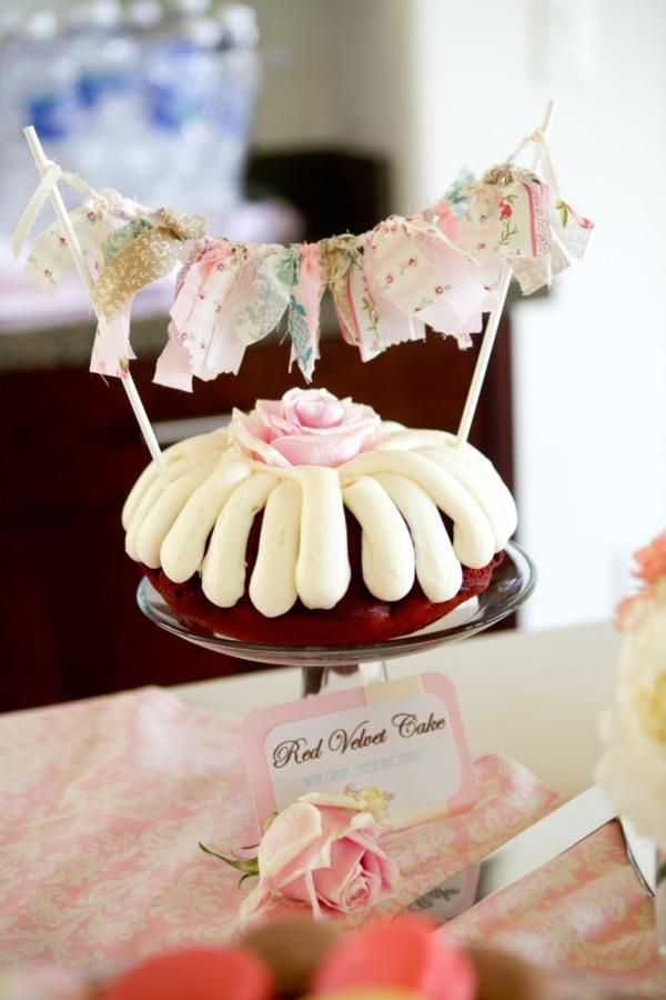 vintage shabby chic baby shower party cakes cupcakes cake rh pinterest com