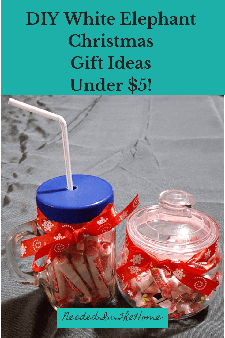 DIY White Elephant Christmas Gift Ideas Under Five Dollars