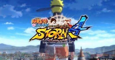 Download Naruto Senki Mod Ninja Storm 4 V2 Update Terbaru Naruto
