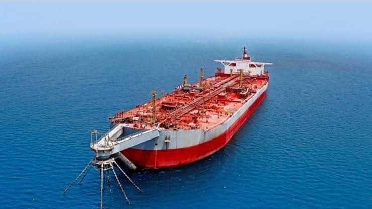 الحوثي يحمل قوى العدوان مسؤولية حدوث تسرب من ناقلة صافر Red Sea Yemen Oil Tanker