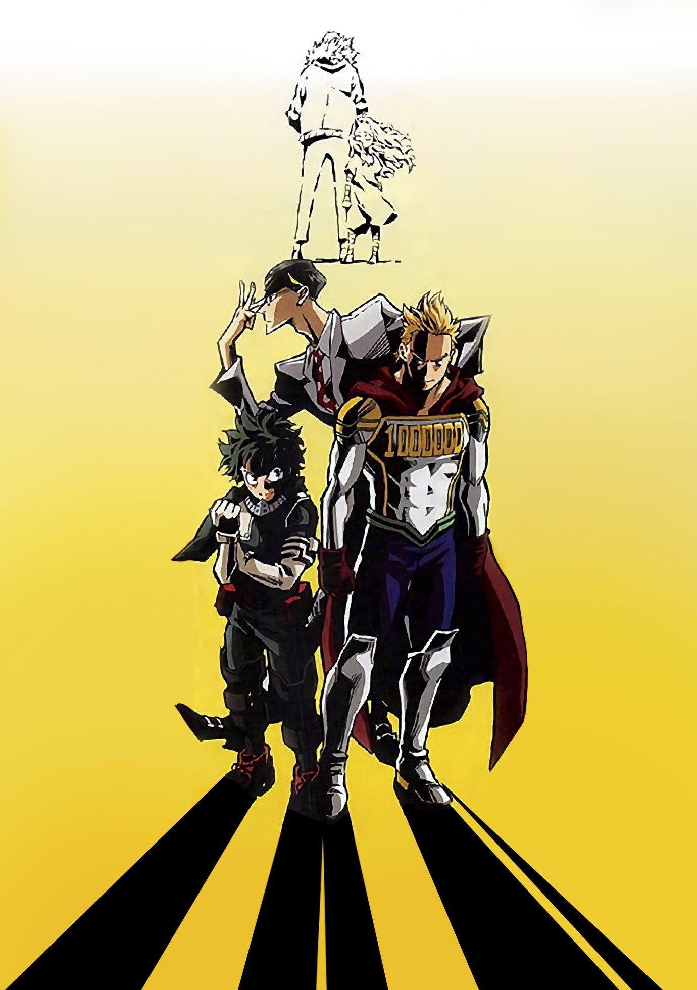 My Hero Academia Boku No Hero Academia Season 4 Key Visual Myheroacademia Hero Poster My Hero Hero