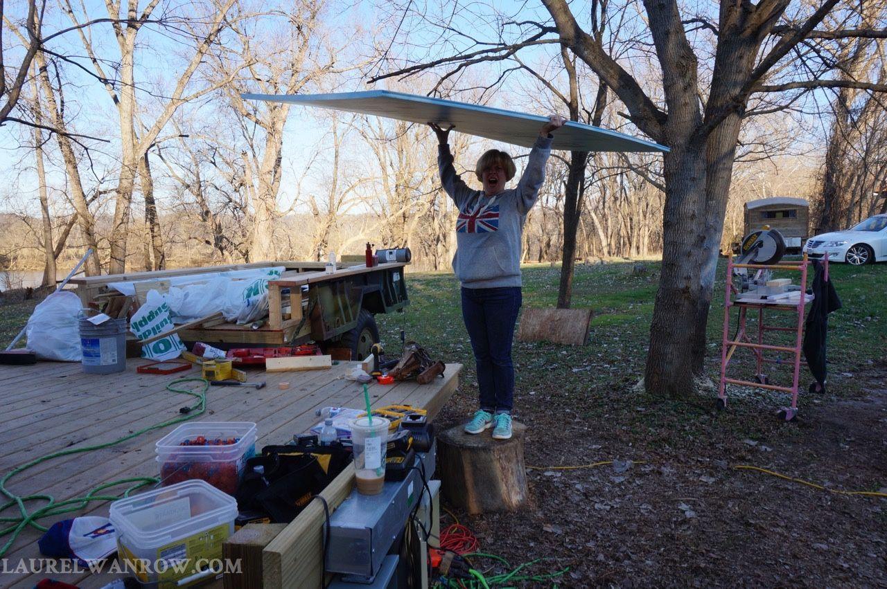 gypsy wagon tiny house construction foam insulation sheets to be rh pinterest com