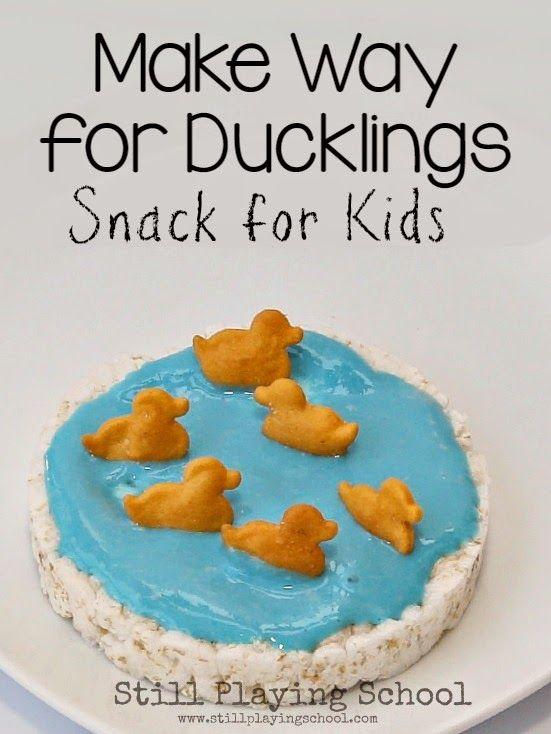 farm animal snacks for preschoolers duck snack for snacks school and books 905