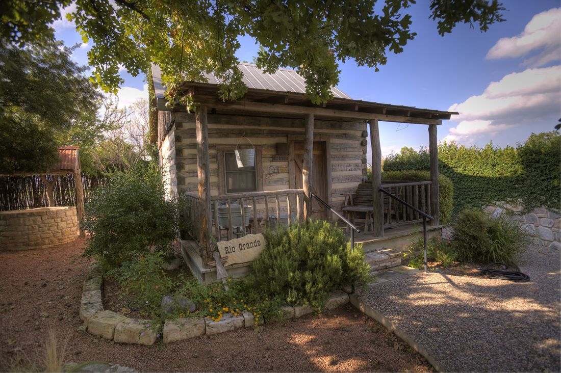 texas harper fredericksburg currently tub cabin information hot hotels book selected private z cabins item with hotel tx