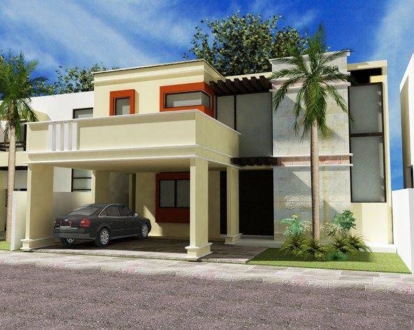 Fachadas De Casas Con Molduras Fachadas De Casas Modernas Fachada De Casa Modelos De Casas Bonitas