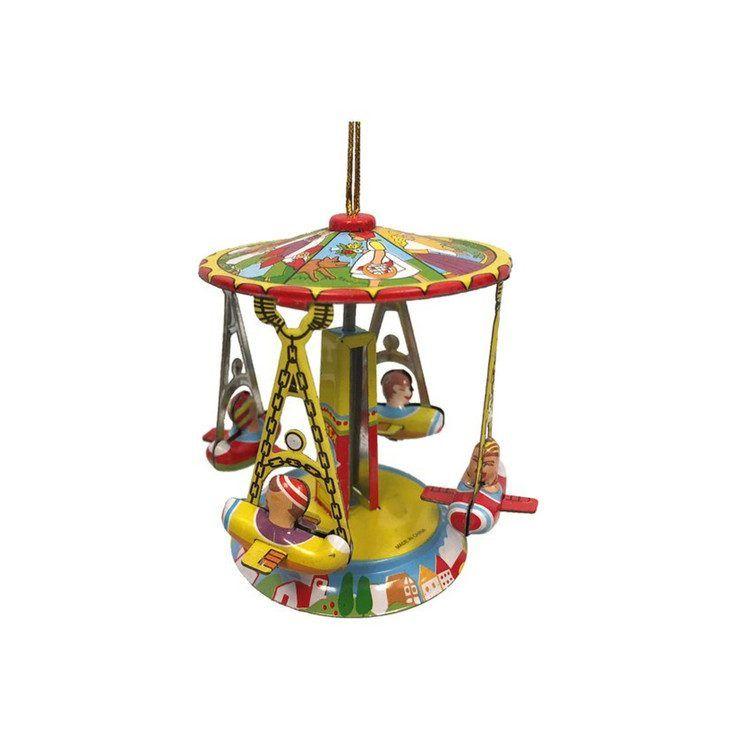 Taron Collection Ferris Wheel Tin Ornament Multi