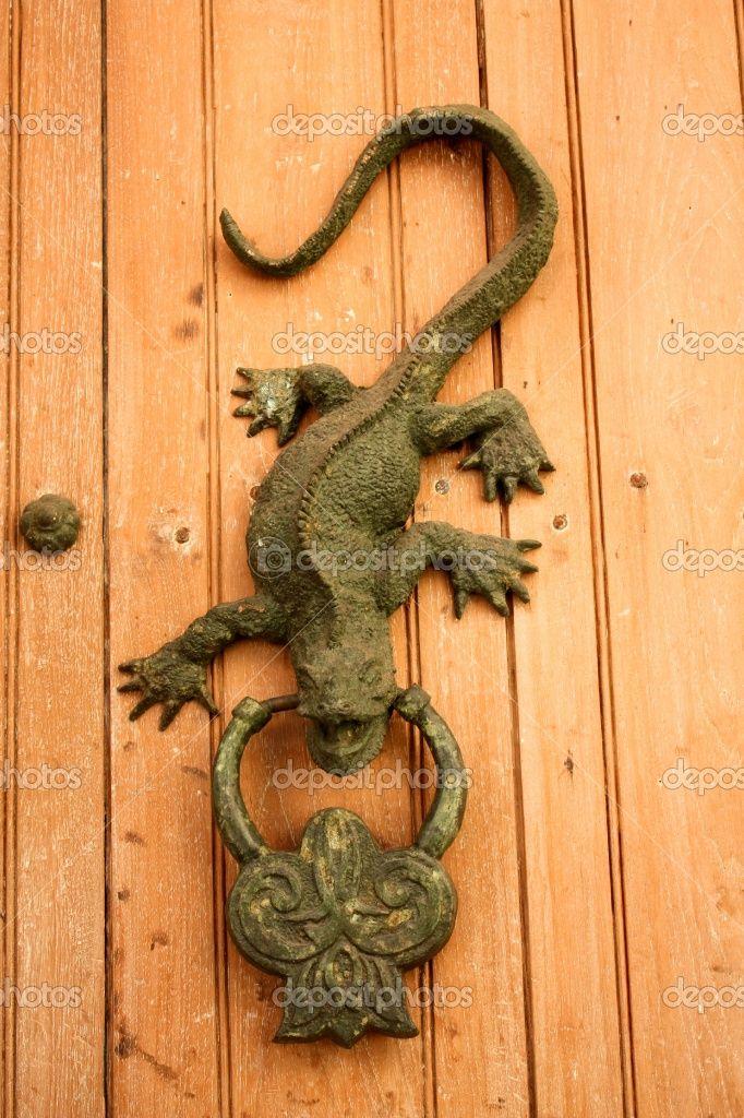 Lizard door knocker | Door knockers | Pinterest