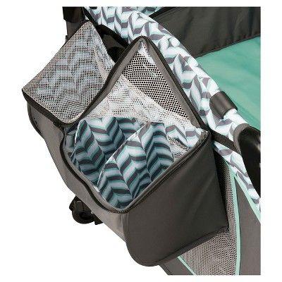 Spearmint Spree Evenflo Portable BabySuite Deluxe Baby Gear
