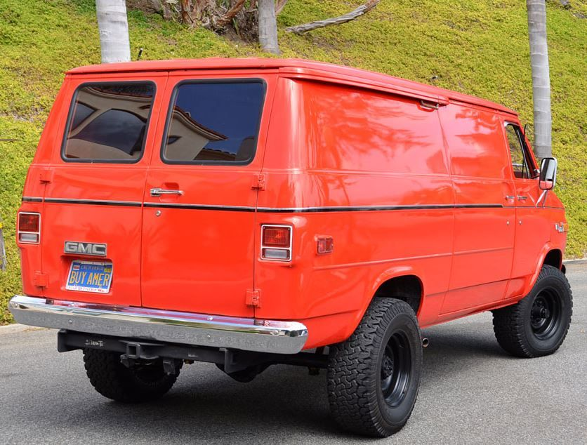 buy american 1977 gmc vandura 35 4x4 and the project begins rh pinterest com