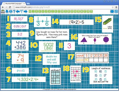 Online 5th Grade Math - Kidz Activities