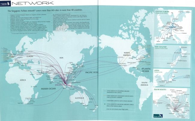 p>At+the+time+of+this+route+map+for+Singapore+Airlines,+Singapore+ ...