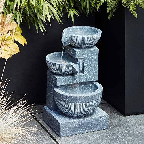 wasserkaskaden 1111a Eder Fontaine de Jardin Cascade avec Pompe et Tuyau