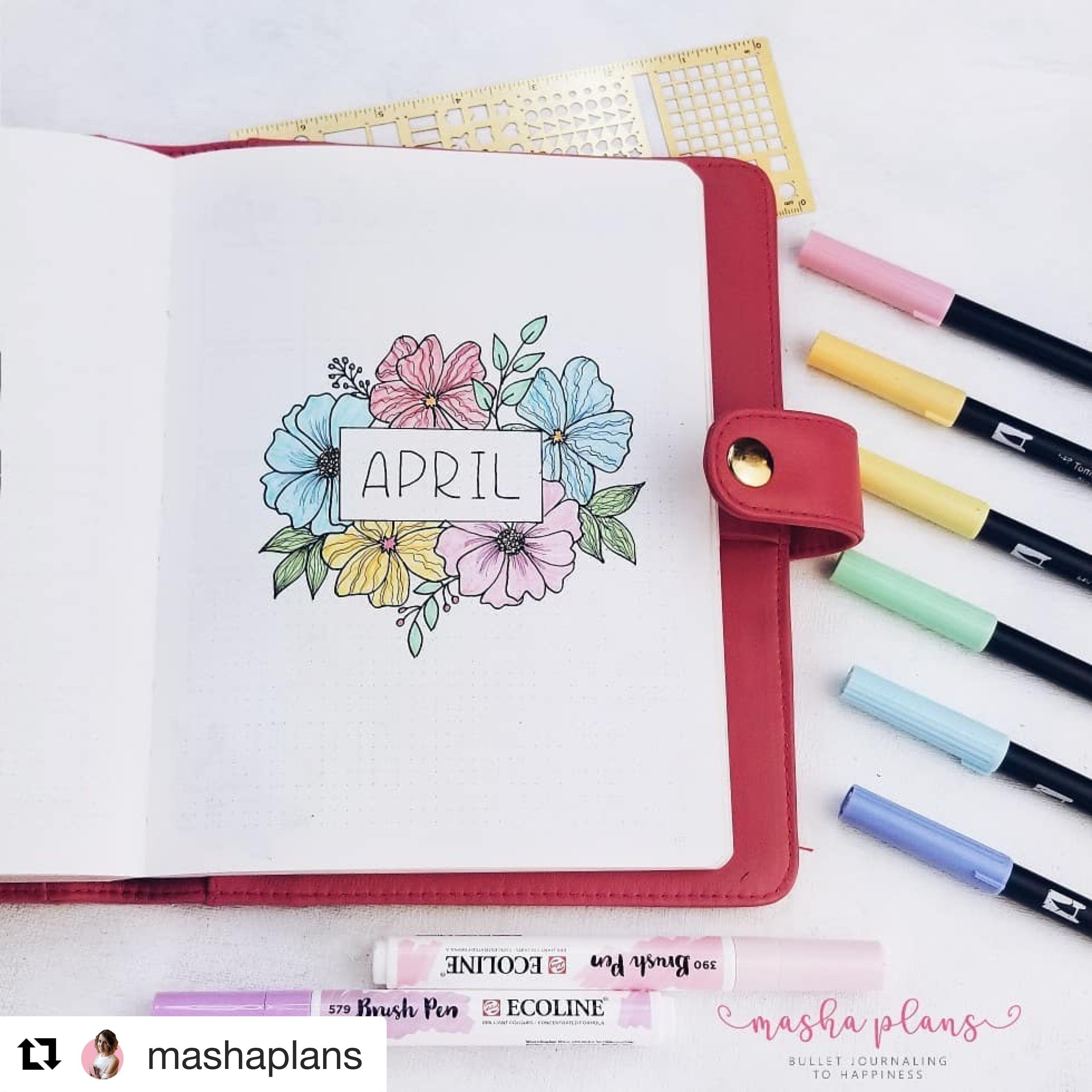All The Inspiration You Need To Bring Spring Into Your Journal