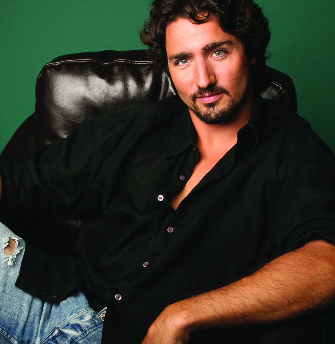 Justin Trudeau Prime Minister Of Canada Poses For A: Hunky Prime Minister Justin Trudeau Is The JFK Jr. Of