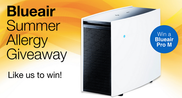 Pro M Air Purifier Air purifier, Giveaway, Allergies