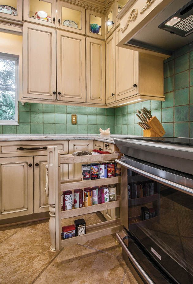 Kitchen organizing ideas come in all varieties